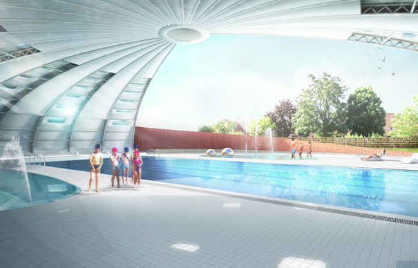 Nuera images d 39 architecture images for Piscine lingolsheim